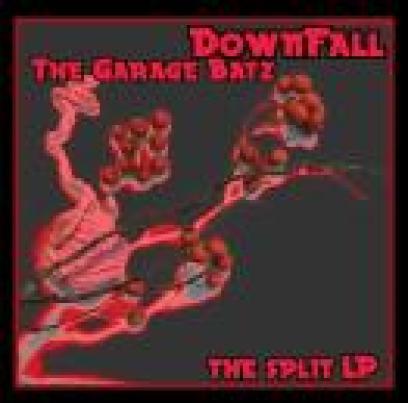 Garage Batz / DownFall The Split LP