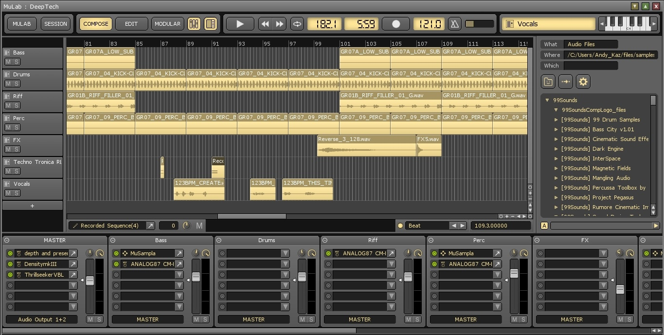 how to use vst with mulab daw