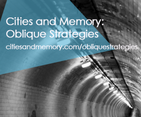 Cities and Memory Oblique Strategies graphic 1