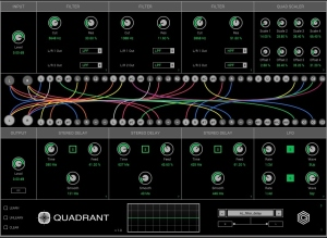 Quadrant filter delay