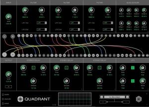 Quadrant filter delay
