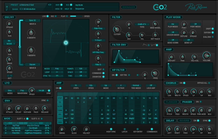Review of Go2 Synth (VST/AU/AAX) by Rob Papen – Andrulian's blog